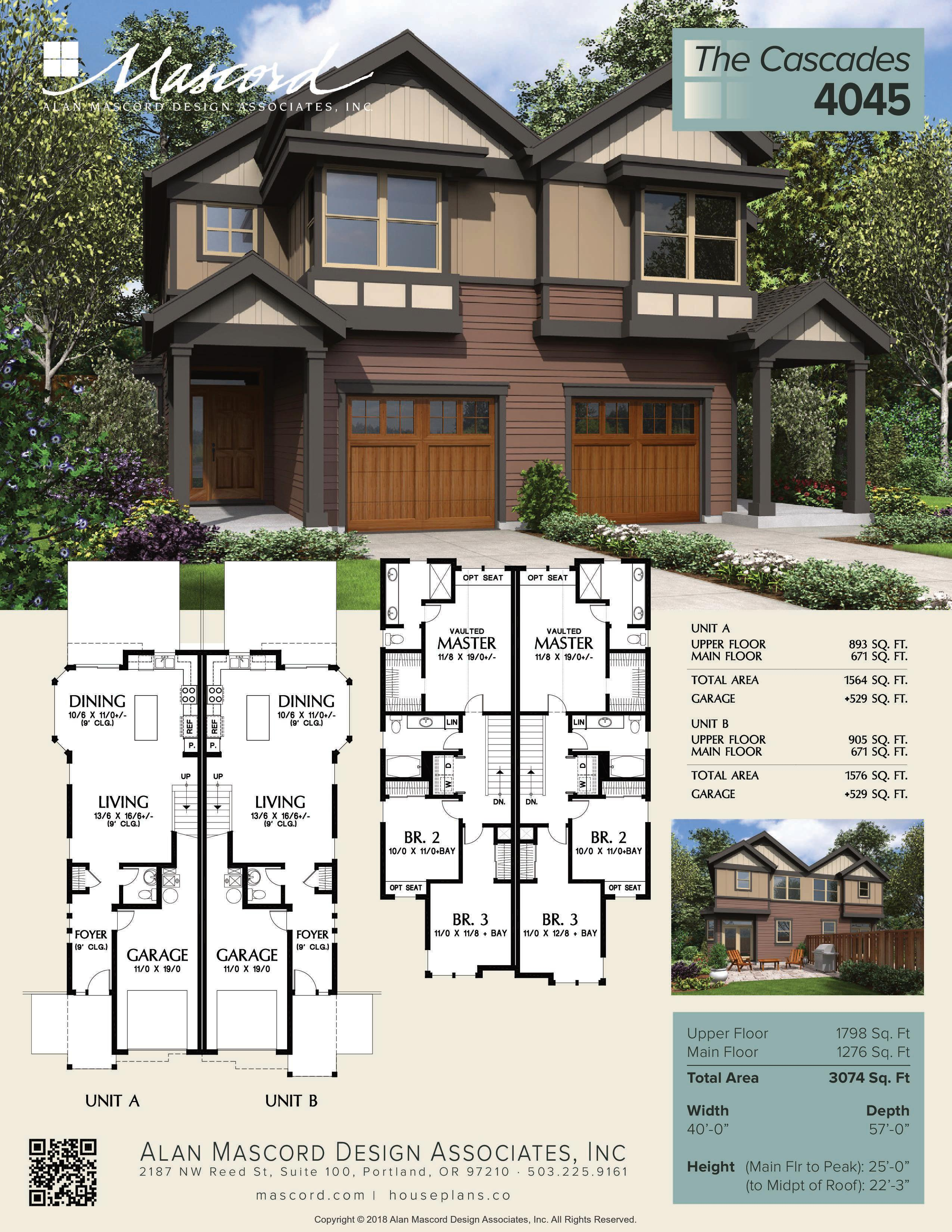 Multi Unit Townhomes 3 Bedroom 2.5 Bathrooms-page-001