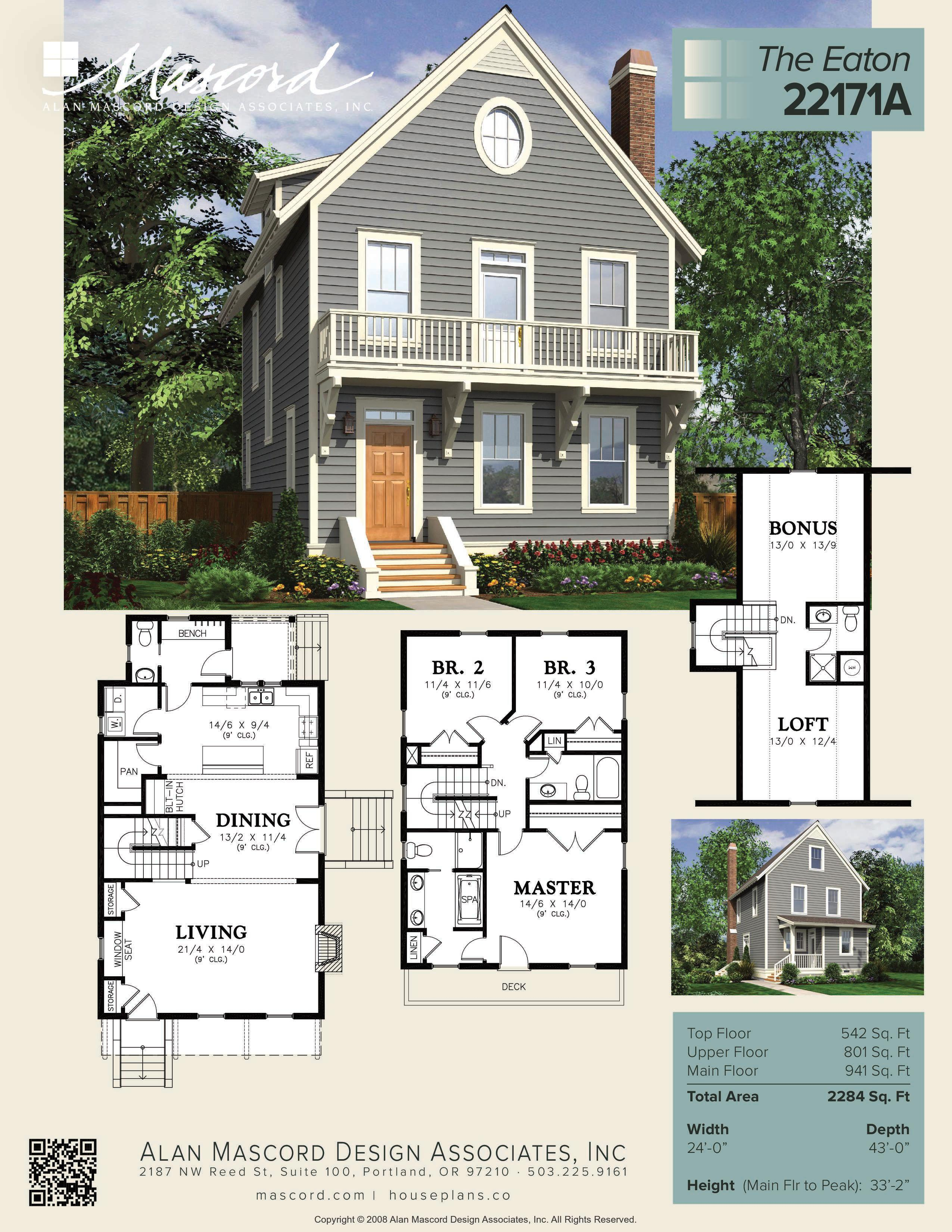 Narrow Lot Single Family 3 Bedrooms 3.5 Bathrooms-page-001